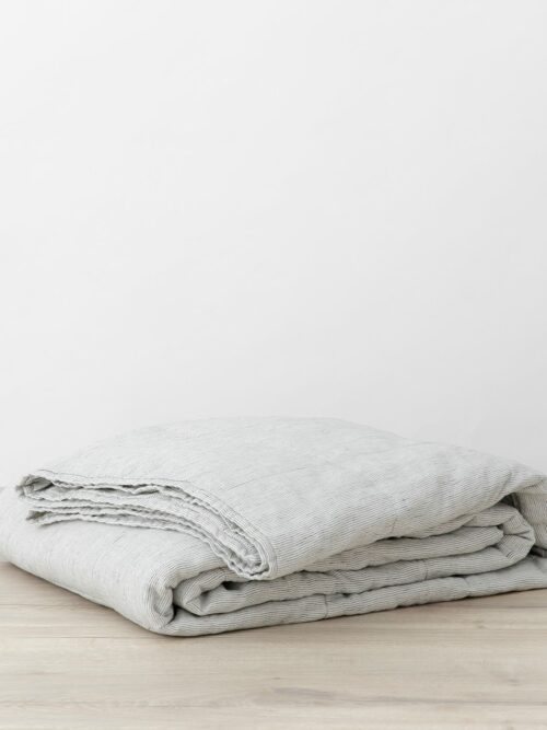 Quilted Bedcover - Pinstripe