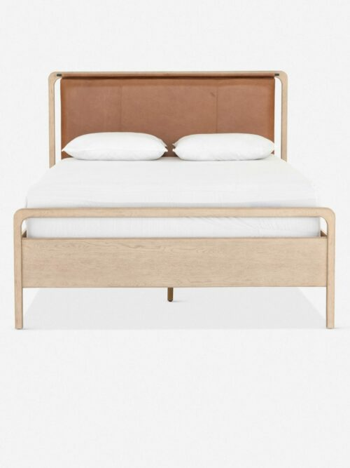 Tierney Leather Bed, King